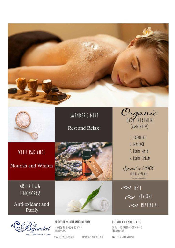 Organic Back Treatment