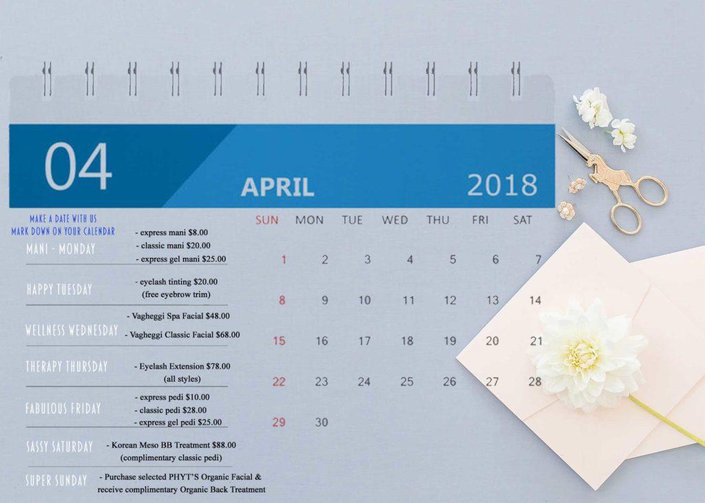 Crazy April Calendar